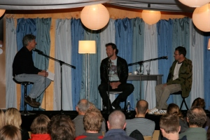 Surf and Adventure Panel: Marty Maher speaking with Patrick O'Neil and Brendan McAloon